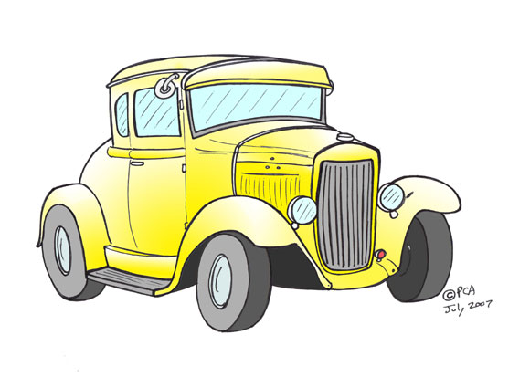 Classic And Antique Cars Collection Antique Cars Cartoons